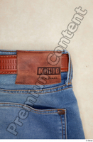 Clothes  214 blue jeans brown belt casual clothing 0006.jpg