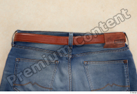 Clothes  214 blue jeans brown belt casual clothing 0007.jpg