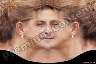 Woman head premade texture 0008