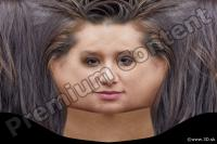Woman head premade texture 0010