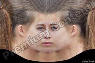 Woman head premade texture 0009