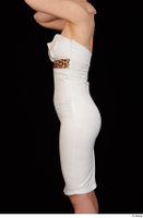 Rania dressed formal hips trunk upper body white dress 0003.jpg