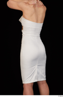 Rania dressed formal hips trunk upper body white dress 0004.jpg