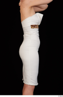 Rania dressed formal hips trunk upper body white dress 0007.jpg
