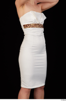 Rania dressed formal hips trunk upper body white dress 0008.jpg