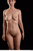 Rania  1 arm flexing front view nude 0001.jpg