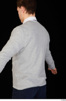 Tomas Salek business clothing dressed grey sweater upper body white t shirt 0002.jpg