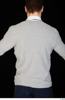 Tomas Salek business clothing dressed grey sweater upper body white t shirt 0003.jpg