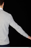 Tomas Salek arm business clothing dressed grey sweater upper body white t shirt 0003.jpg