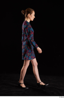 Violet  1 black shoes clothing dress dressed side view walking whole body 0004.jpg