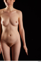 Violet  1 arm flexing front view nude 0001.jpg