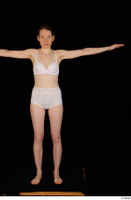 Violet standing t-pose underwear white bra white panties whole body 0001.jpg