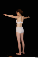 Violet standing t-pose underwear white bra white panties whole body 0004.jpg