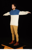 Pablo brown shoes brown trousers dressed standing sweater t-pose whole body 0002.jpg