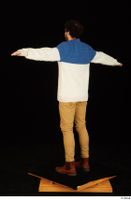 Pablo brown shoes brown trousers dressed standing sweater t-pose whole body 0004.jpg