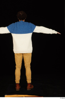 Pablo brown shoes brown trousers dressed standing sweater t-pose whole body 0005.jpg