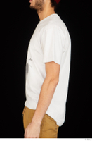 Pablo arm dressed upper body white t shirt 0001.jpg