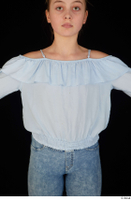 Sarah blue blouse dressed upper body 0001.jpg