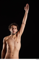 Pablo  1 arm flexing front view nude 0005.jpg