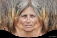 Woman head premade texture 0002