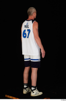 Joseph dressed sports standing white shorts white sneakers white tank top whole body 0006.jpg