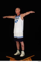 Joseph dressed sports standing t-pose white shorts white sneakers white tank top whole body 0002.jpg