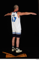 Joseph dressed sports standing t-pose white shorts white sneakers white tank top whole body 0006.jpg