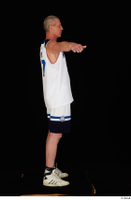 Joseph dressed sports standing t-pose white shorts white sneakers white tank top whole body 0007.jpg