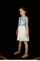 Lilly dress dressed sandals standing whole body 0002.jpg