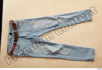 Clothes  222 blue jeans brown belt casual 0001.jpg
