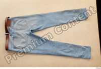 Clothes  222 blue jeans brown belt casual 0002.jpg