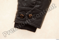 Clothes  222 black leather jacket casual 0005.jpg