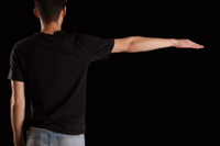 Jamie  1 arm back view dressed flexing 0003.jpg
