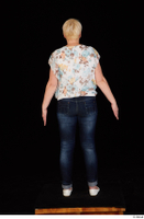 Carly blossom top dressed jeans standing white shoes whole body 0005.jpg