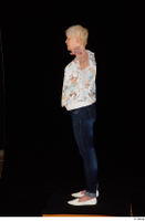Carly blossom top dressed jeans standing t-pose white shoes whole body 0003.jpg