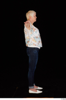 Carly blossom top dressed jeans standing t-pose white shoes whole body 0007.jpg