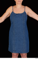 Carly dressed jeans dress trunk upper body 0001.jpg