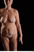 Carly  1 arm flexing front view nude 0001.jpg