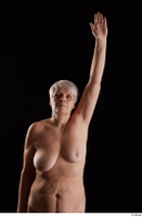 Carly  1 arm flexing front view nude 0005.jpg