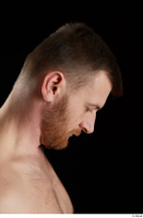 Victor  2 bearded flexing head side view 0001.jpg
