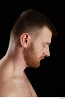 Victor  2 bearded flexing head side view 0002.jpg
