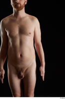 Victor  1 arm flexing front view nude 0001.jpg