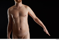 Victor  1 arm flexing front view nude 0002.jpg