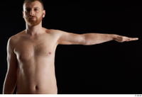 Victor  1 arm flexing front view nude 0003.jpg