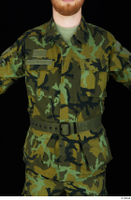 Victor army belt camo jacket dressed upper body 0001.jpg