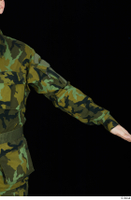 Victor arm army belt camo jacket dressed upper body 0002.jpg