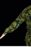 Victor arm army belt camo jacket dressed upper body 0004.jpg