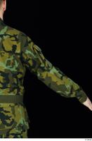 Victor arm army belt camo jacket dressed upper body 0005.jpg