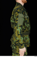 Victor arm army belt camo jacket dressed upper body 0006.jpg