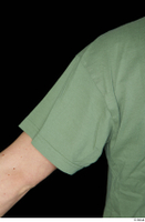Victor arm army dressed green t shirt shoulder upper body 0002.jpg